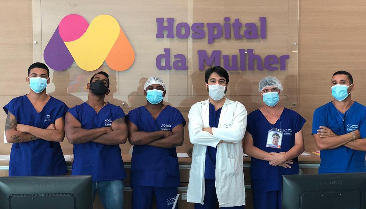 Valorizar padioleiro e seguranças patrimoniais é um dos atributos do médico Luiz Guilherme