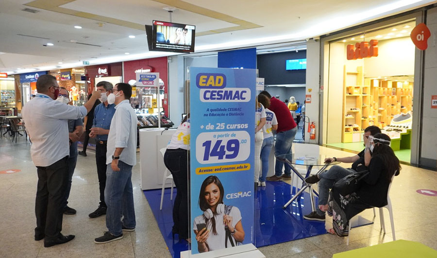 Maceió Shopping firma parceria com Cesmac