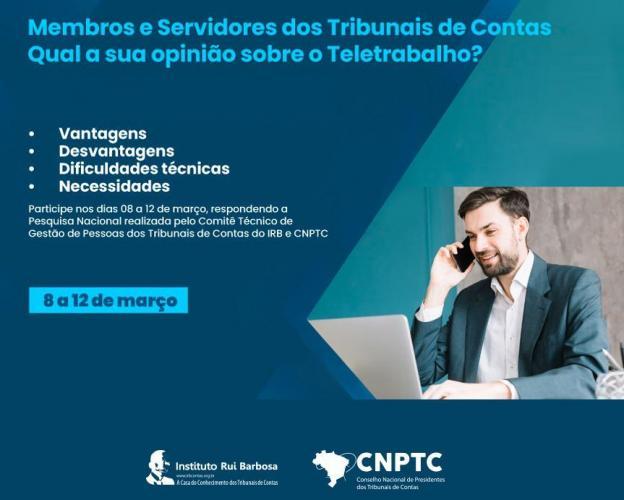 Comitê de Gestão dos TCs fazem pesquisa com servidores dos Tribunais de Contas