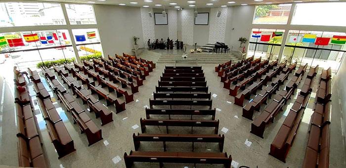 Igreja Batista do Farol suspende cultos presenciais a partir de domingo, 07