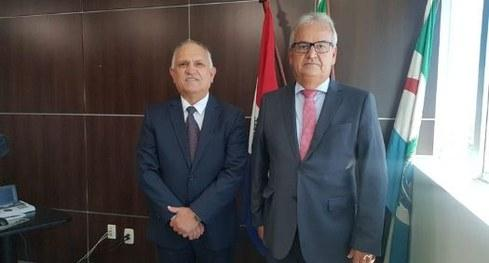 Presidente do TCE/AL visita Tribunal Regional Eleitoral