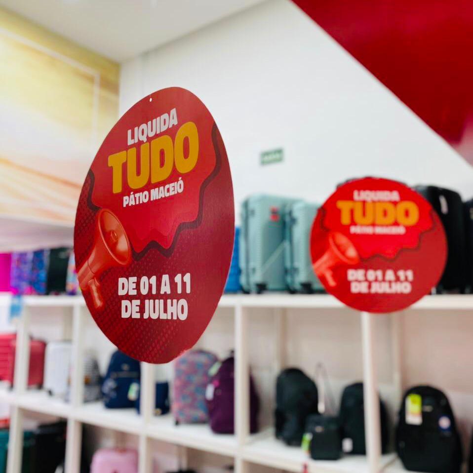 Shopping Pátio Maceió oferece descontos de até 70% com a Liquida Tudo